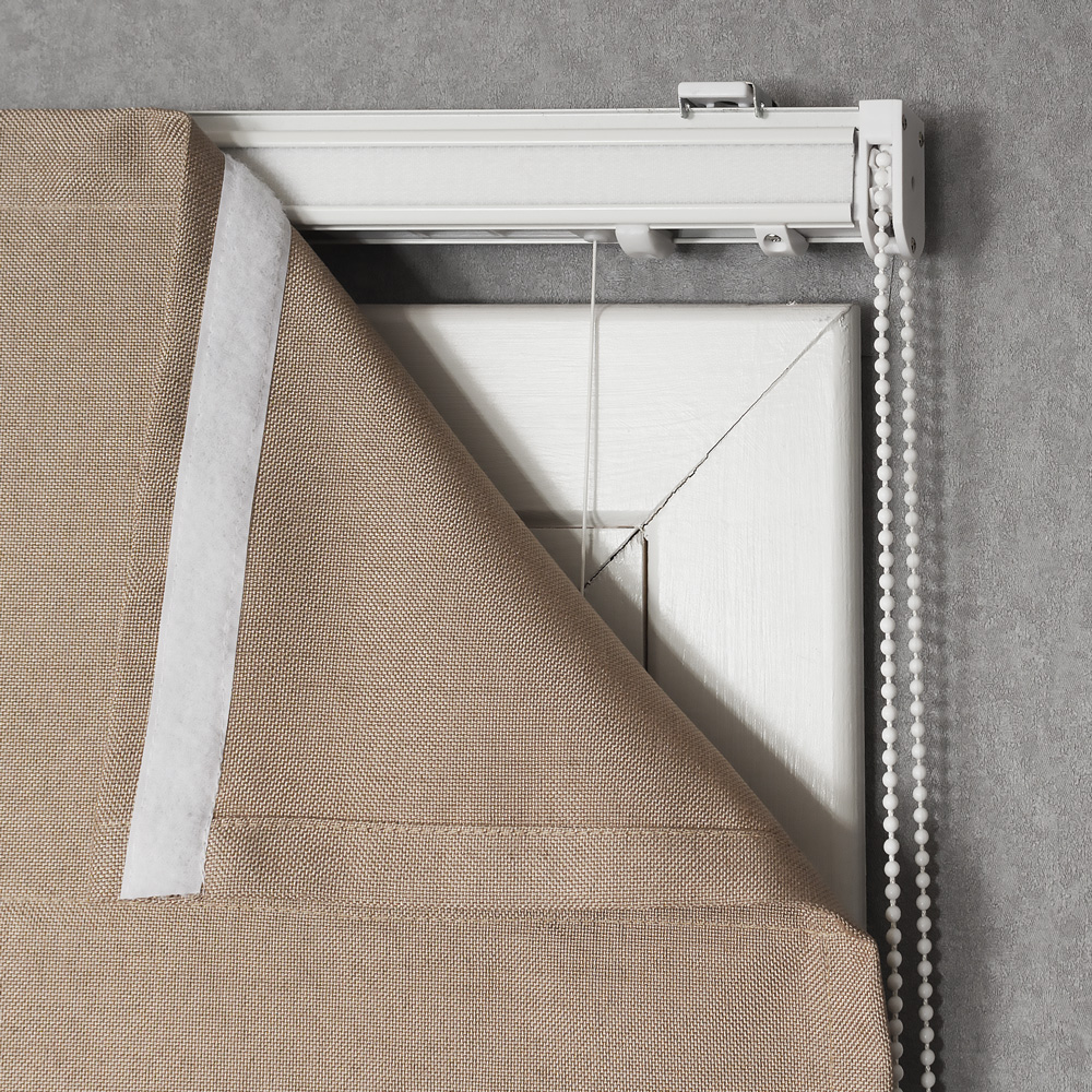 Римская штора на подкладке