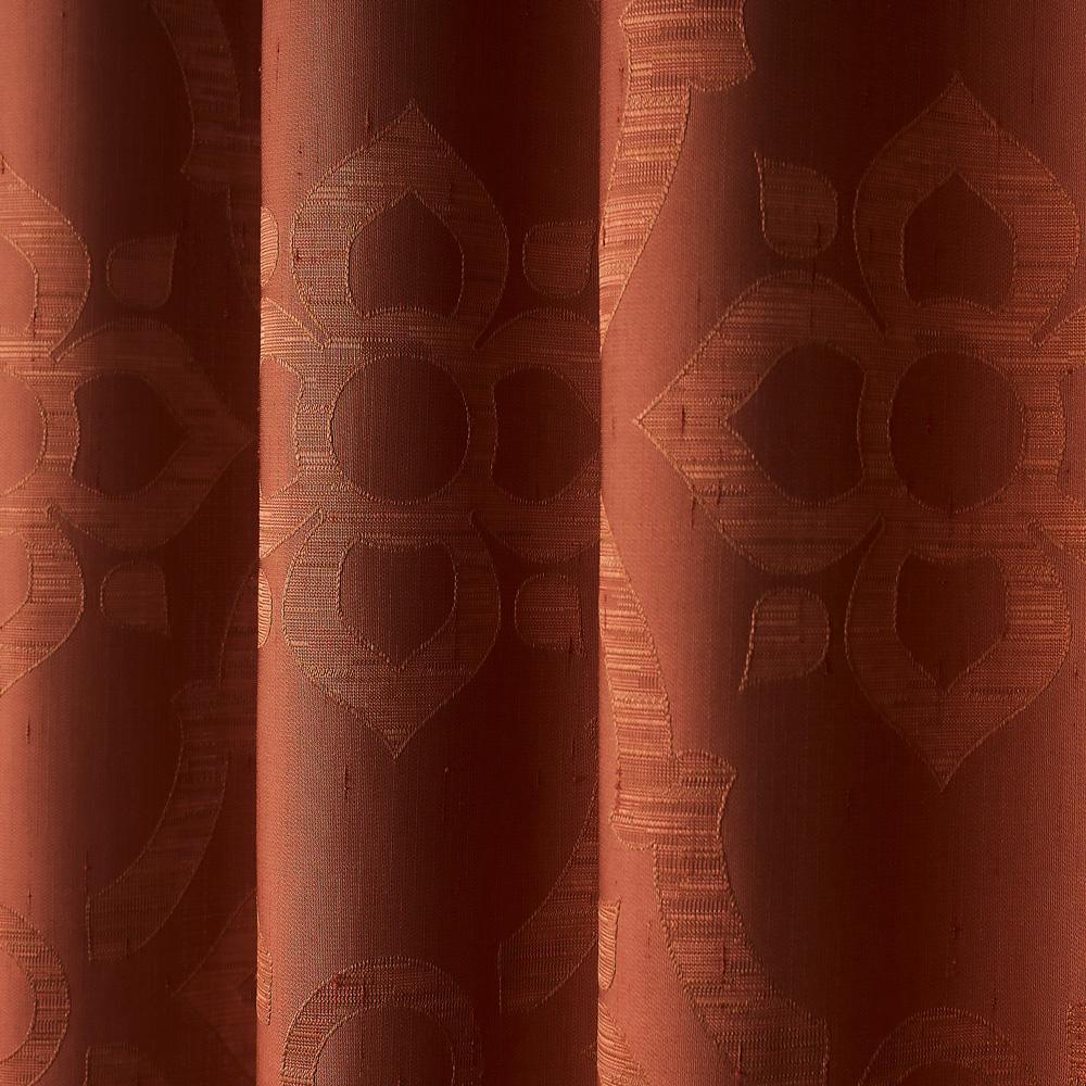 Шторы терракотового цвета