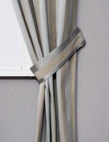 Подхват и полосатая штора Lily 60