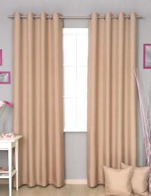 Шторы на люверсах с декоративными подушками Diana M14