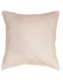 Уютная подушка ванильного цвете Diana M5