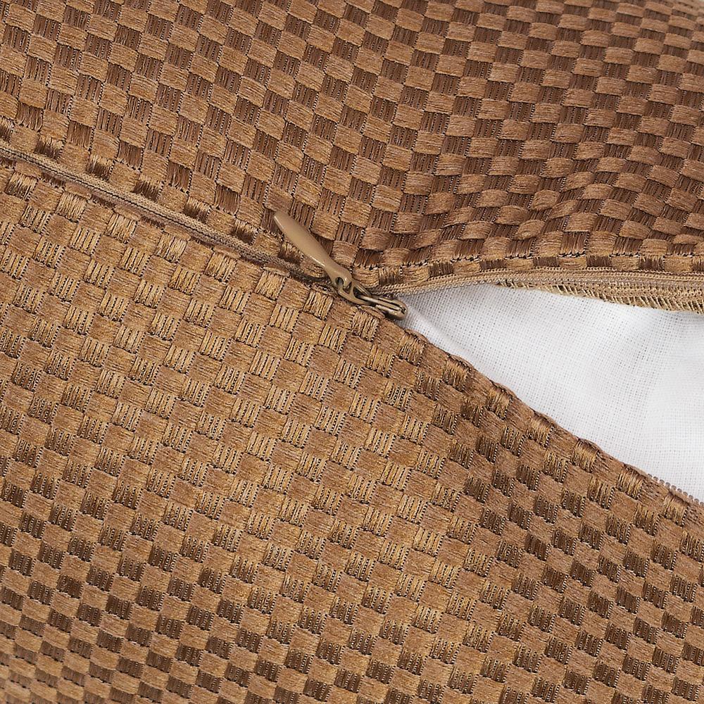 Деуоративная подушка с наволочкой на молнии Bronte 150