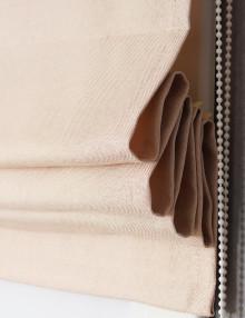Римская штора с карнизом Diana M5 ванильного цвета