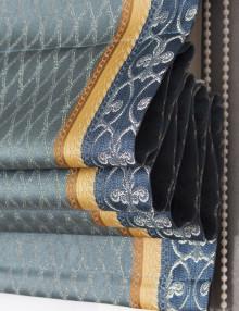 Римская штора Victoria 20 из ткани в полоску