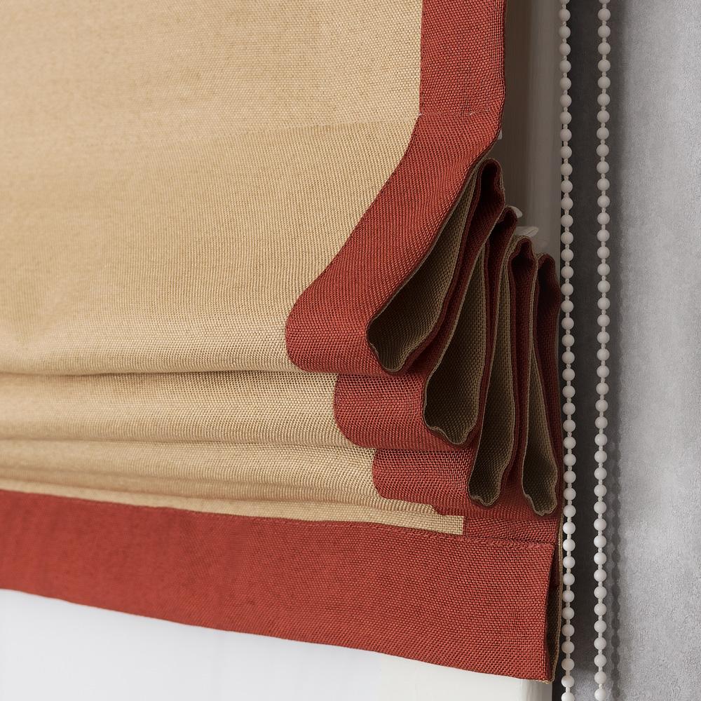 Римская штора Diana M10 с декоративным кантом