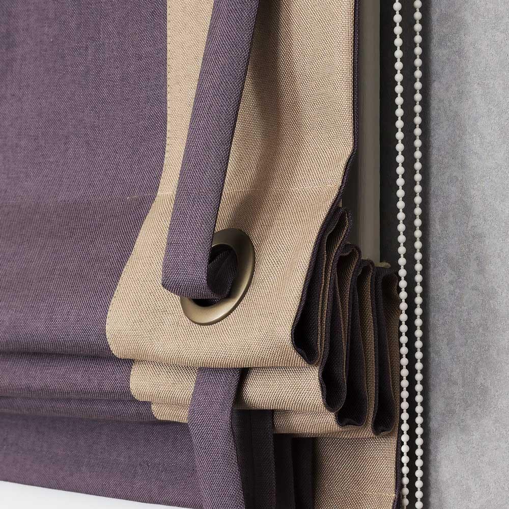 Красивая римская штора Diana M46 собранная в складки