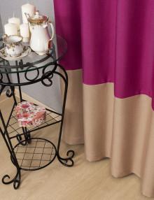 Двухцветные шторы из ткани Diana M36