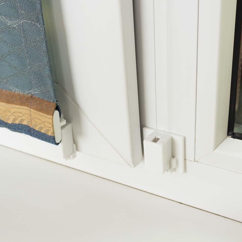 Крепление шторы на окно без сверления