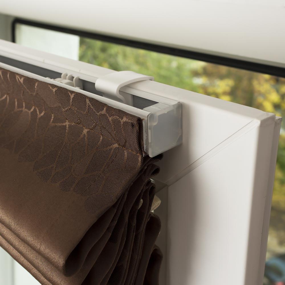 Крепление шторы на пластиковое окно без сверления