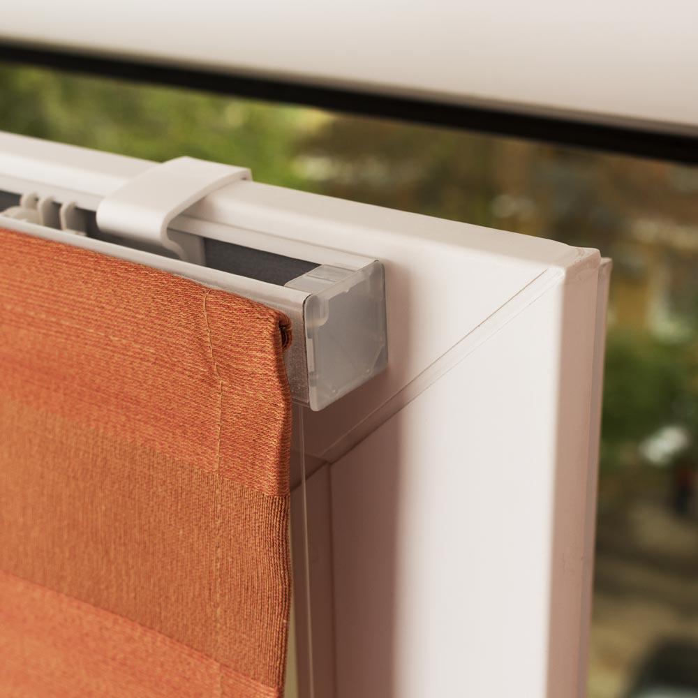 римские шторы на пластиковые окна без сверления