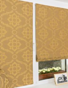 Яркие красивые мини римские шторы с возможностью установки без сверления