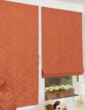 Две красивые мини римские шторы и декоративная подушка