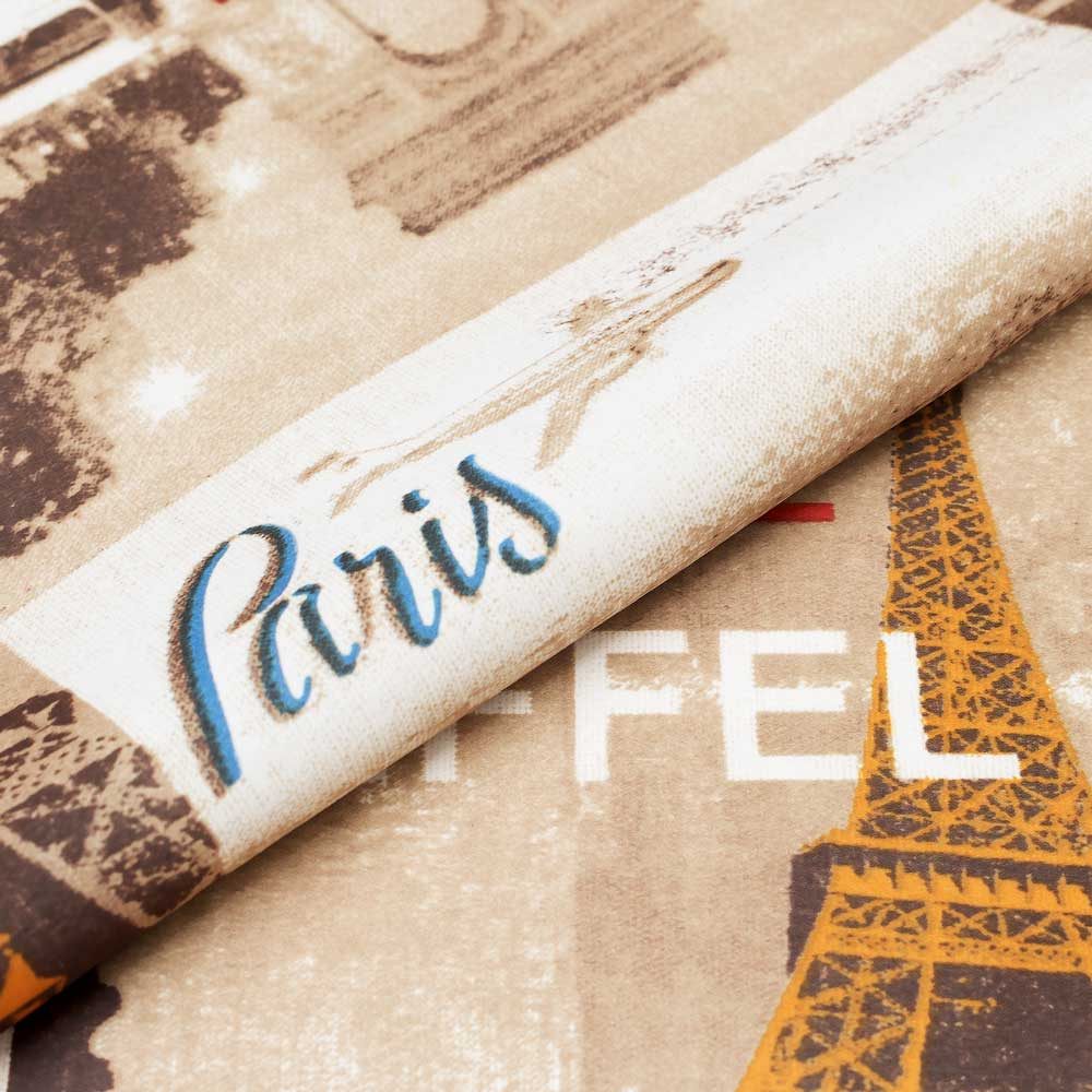 Шторы с принтом Париж Paris