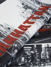 Manhattan новая штора из ткани New York