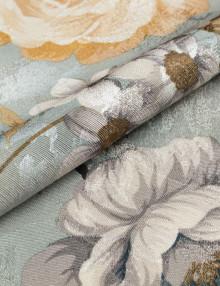 Красивая ткань для штор с цветочным рисунком