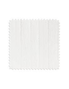 Шторы из белой легкой портьерной ткани