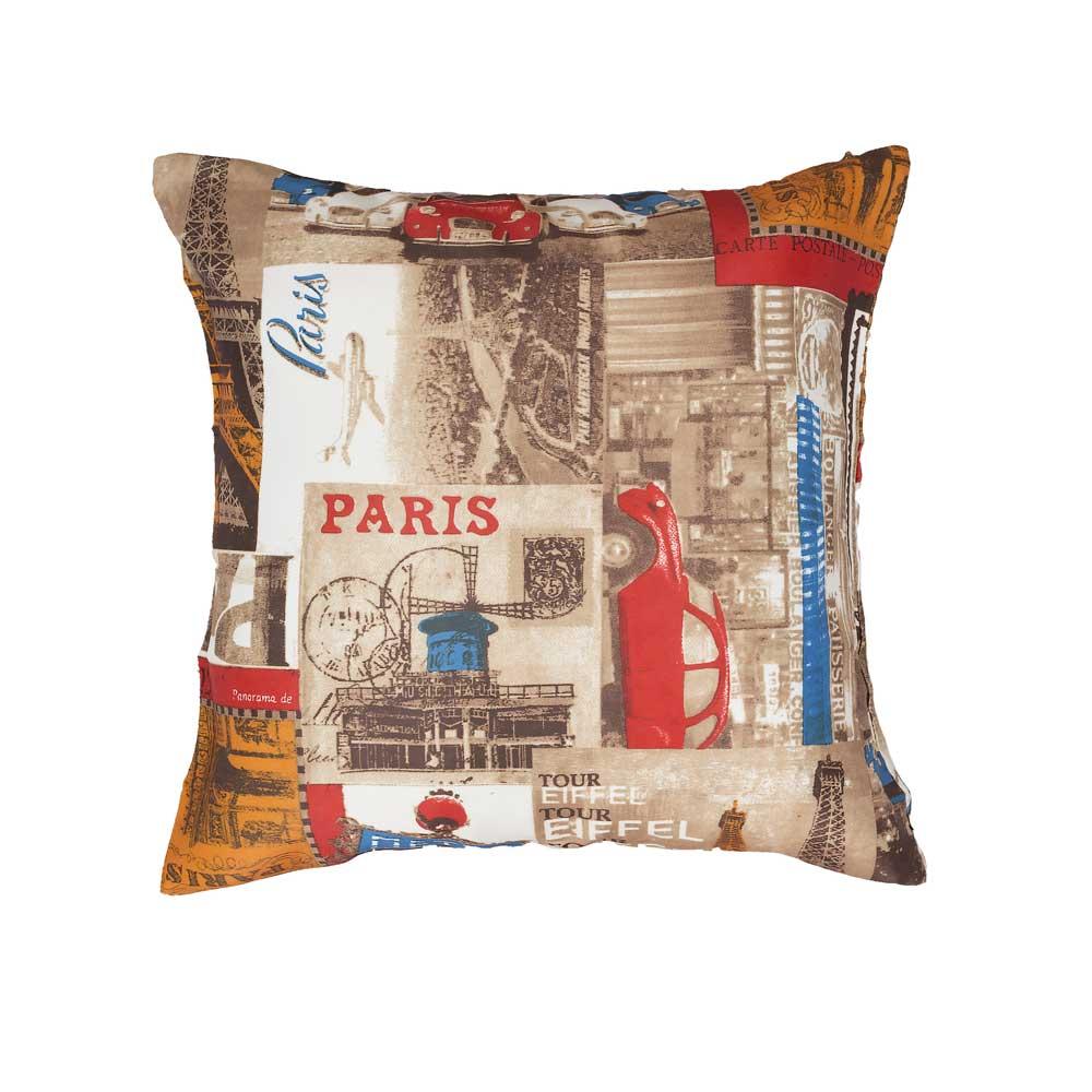Декоративная подушка со съемной наволочкой на молнии