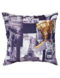 Декоративная подушка будет дополнением к шторам