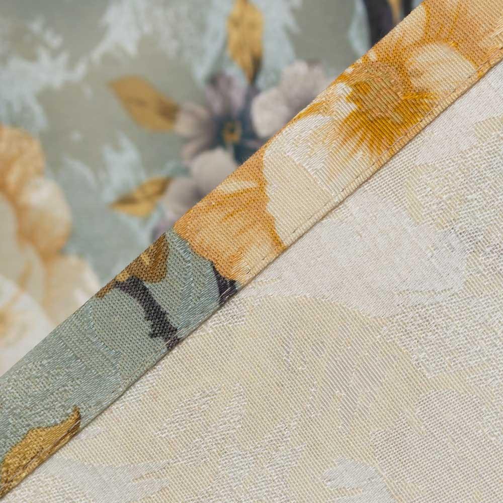 Ткань для штор с цветочным рисунком
