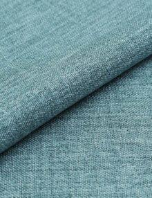Ткань для штор лазурного цвета блэкаут