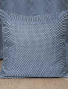 Декоративная подушка голубого цвета