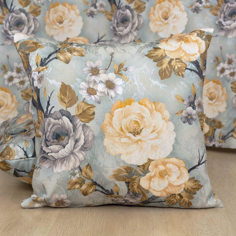 Декоративная подушка со съемной наволочкой