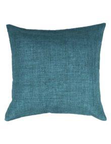 Декоративная подушка лазурного цвета