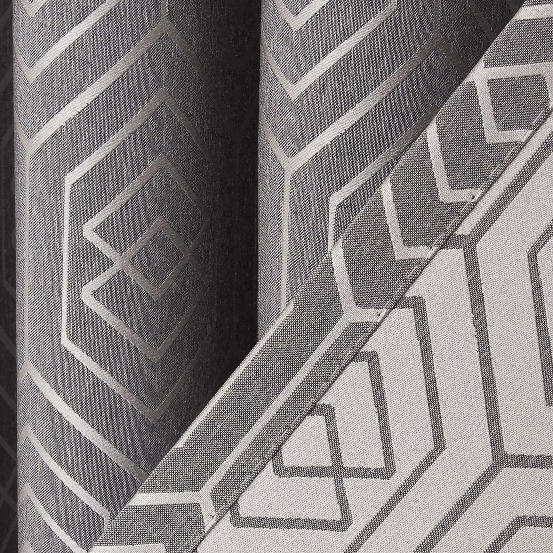 Изнаночная сторона штор из ткани Constance