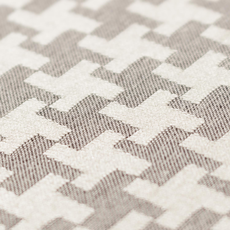 ткань для штор с орнаментом гусиная лапка