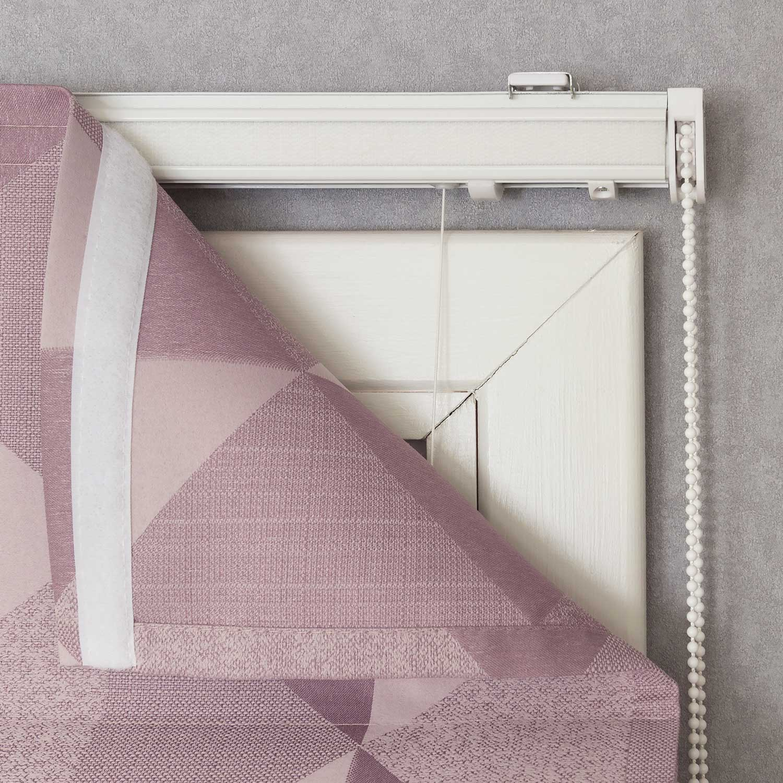 Карниз для римской шторы с механическим подъемным механизмом