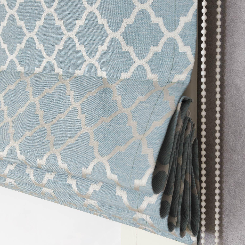 Римские шторы пастельных тонов впишутся в любой интерьер