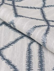 Ткань жаккард напоминает натуральный лен