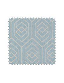 Красивая голубая ткань для штор