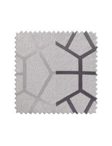 Серая ткань для штор с крупным рисунком