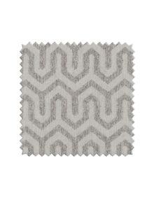 Ткань под лён с геометрическим орнаментом