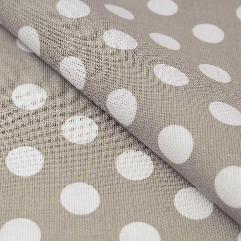 Ткань для штор в горошек
