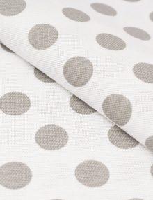 Ткань для штора с рисунком горох