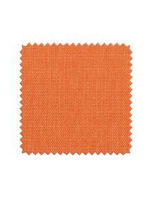 Ткань рогожка для штор оранжевого цвета