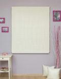 Римские шторы белого цвета в гостиную