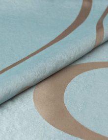 Ткань для штор голубого цвета