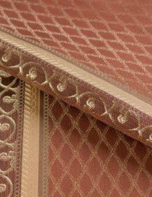 Портьерная ткань с классическим рисунком для римских штор