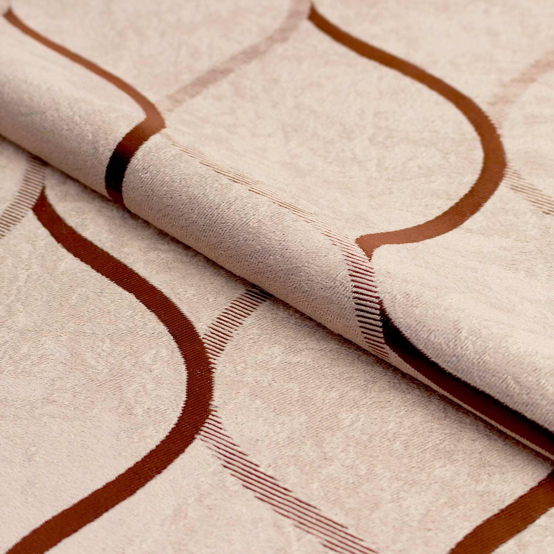 Ткань кофейного цвета для штор