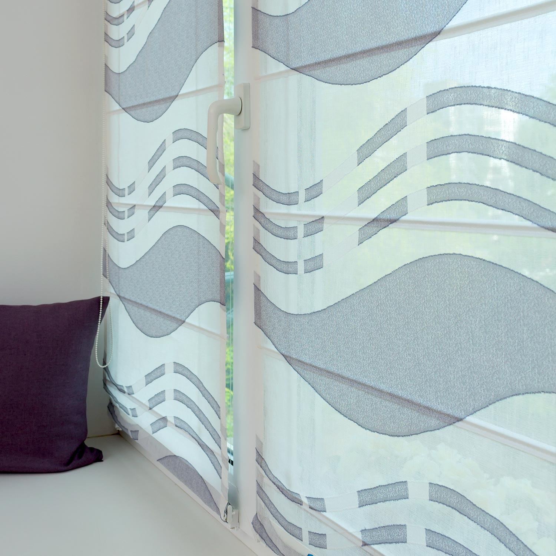 Мини римские шторы особенно подойдут для кухни и могут использоваться вместо тюля