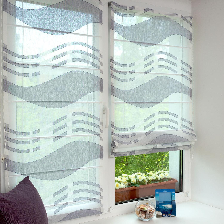 Отличные мини римские шторы из легкой ткани для кухни для кухни