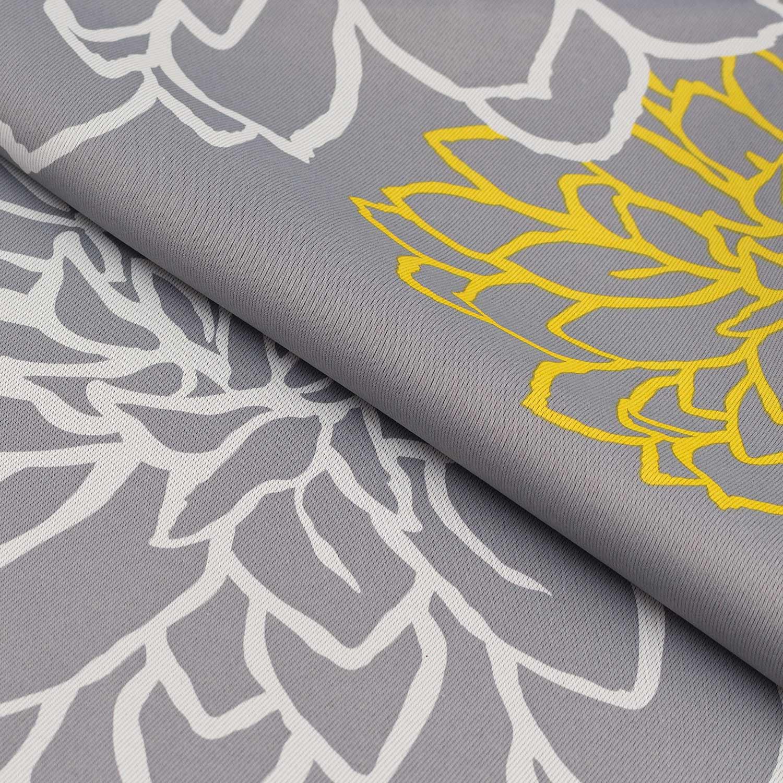 Ткань серого цвета для римских штор