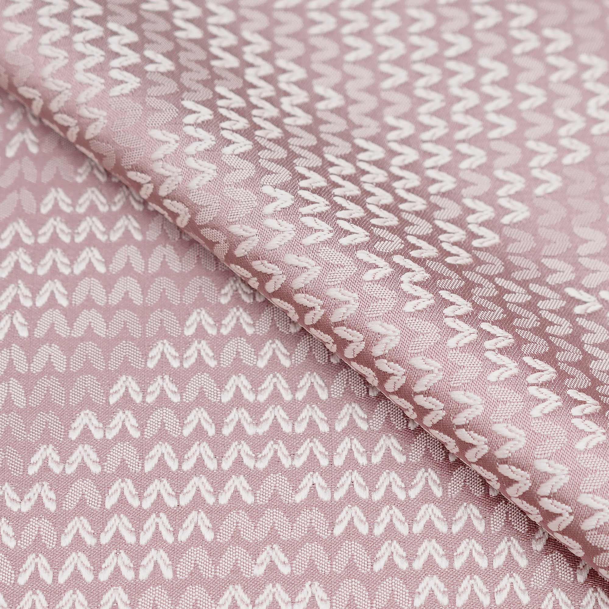 Ткань для римских штор с рисунком зигзаг