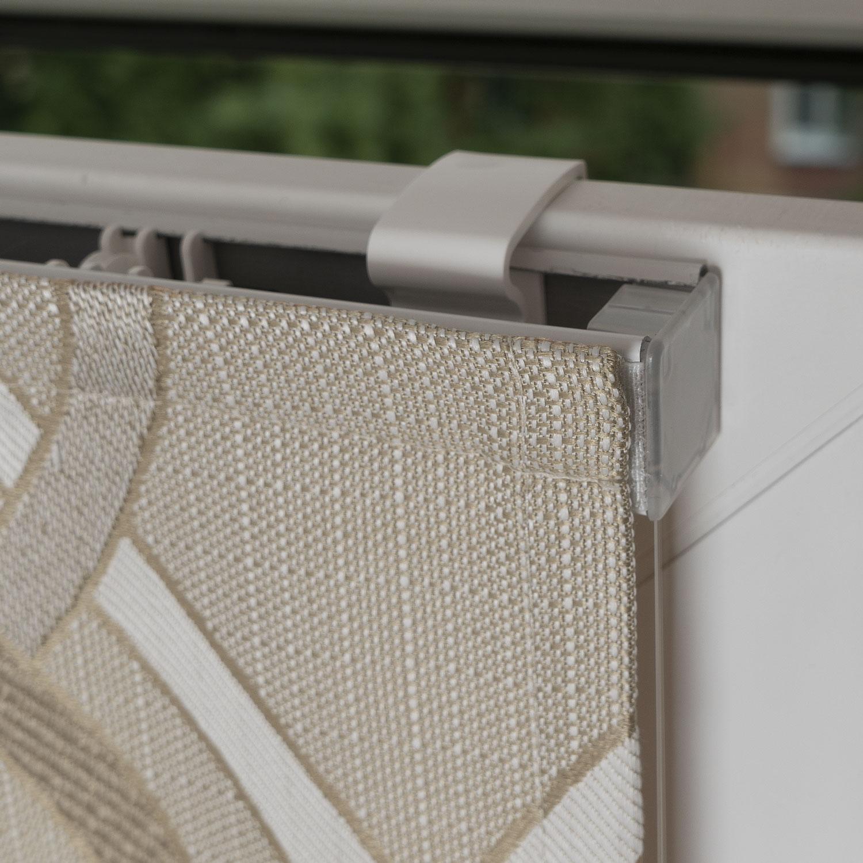 Мини римские шторы с установкой без сверления