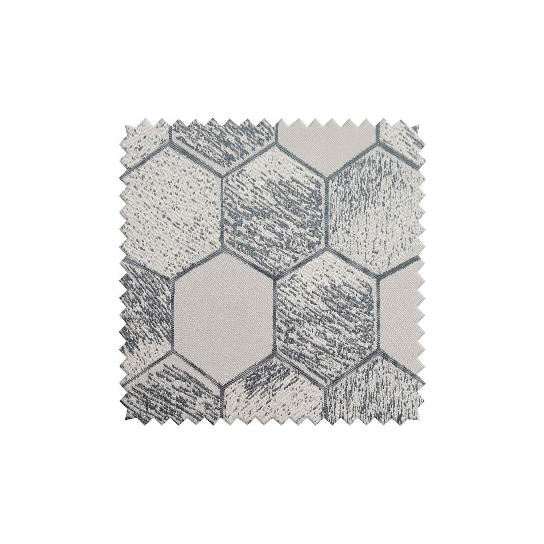Ткань для штор с рисунком шестиугольники
