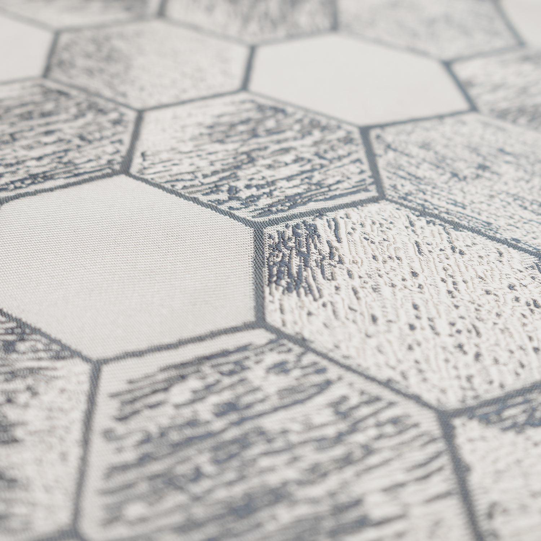 Ткань с геометрическим рисунком шестиугольники